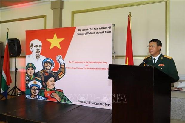 La fondation de l'Armee populaire du Vietnam celebree a l'etranger hinh anh 1