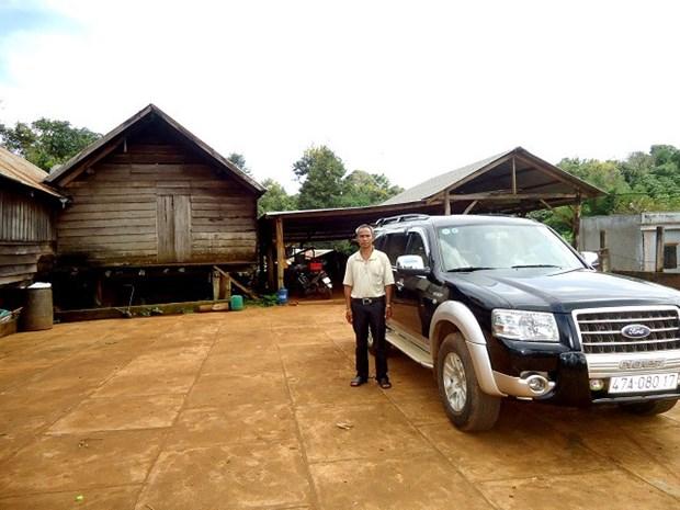 Cu Pong, un bel exemple dans l'edification de la Nouvelle ruralite hinh anh 1