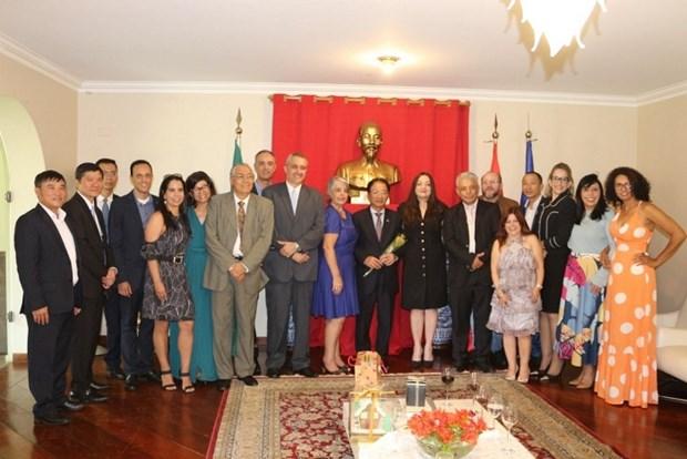 De nombreuses opportunites de cooperation entre le Vietnam et le Bresil hinh anh 1