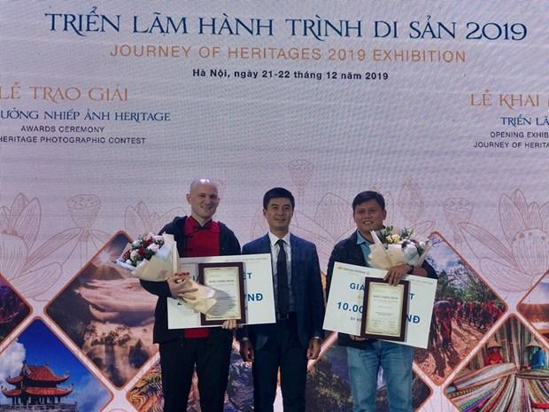 Remise des prix du concours de photos sur le patrimoine du Vietnam 2019 hinh anh 1