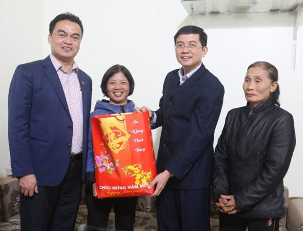 Bac Ninh : remise de cadeaux a des catholiques pauvres a l'occasion de Noel hinh anh 1