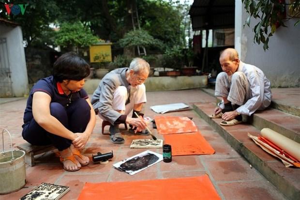 Restaurer les estampes de Kim Hoang hinh anh 2