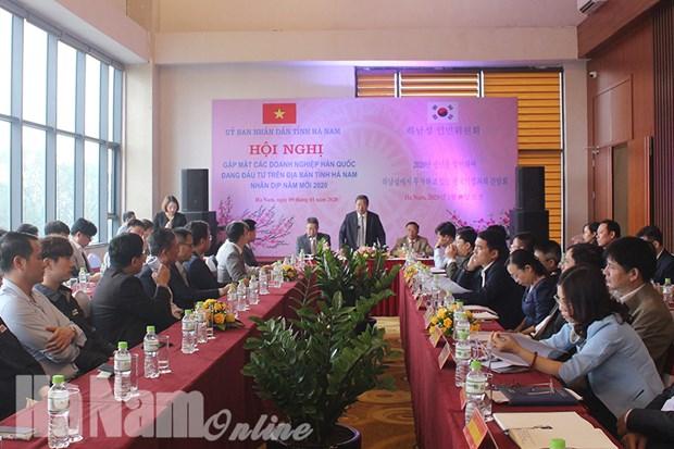 Ha Nam cree des conditions propices aux entreprises d'IDE hinh anh 1