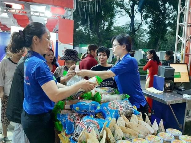 La foire de produits agricoles et alimentaires pour le Tet a Hanoi hinh anh 1
