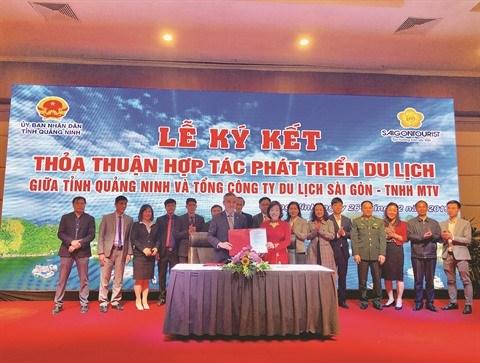 Saigontourist et Quang Ninh vers une cooperation touristique hinh anh 1