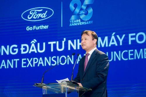Ford Vietnam investira 82 millions de dollars de plus pour elargir son usine a Hai Duong hinh anh 1