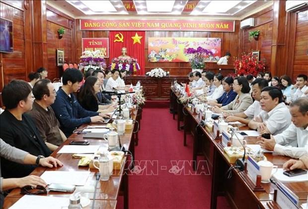 Des entreprises japonaises s'interessent au climat d'investissement de Binh Phuoc hinh anh 1