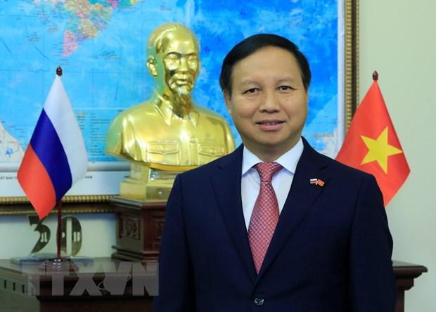 Table ronde sur les 70 ans de la cooperation Vietnam – Russie hinh anh 1