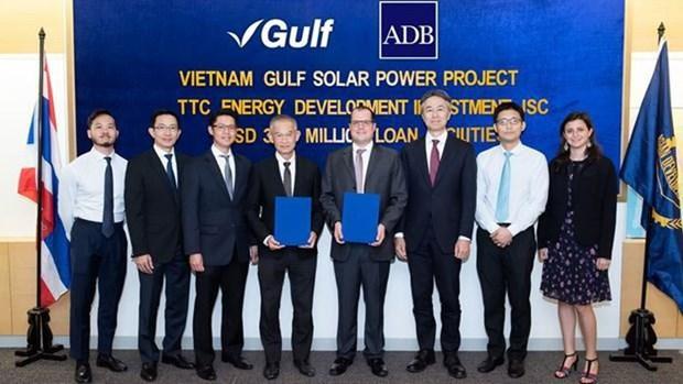 La BAD accorde un pret a un projet d'energie solaire a Tay Ninh hinh anh 1