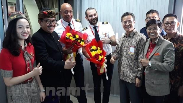 Vietjet Air ouvre une ligne directe entre Hanoi et Bali hinh anh 1