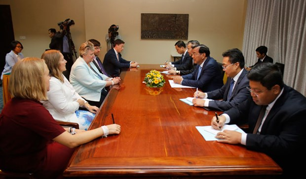 Le Cambodge espere conserver son statut commercial preferentiel avec le Royaume-Uni hinh anh 1