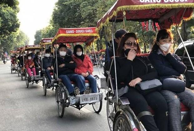 Hanoi accueille plus de 2,3 millions de touristes en janvier hinh anh 1