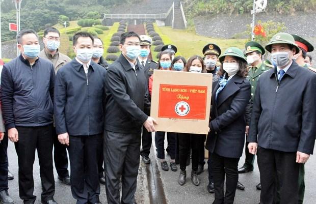 Une localite vietnamienne aide la region chinoise du Guangxi a lutter contre le 2019-nCoV hinh anh 1