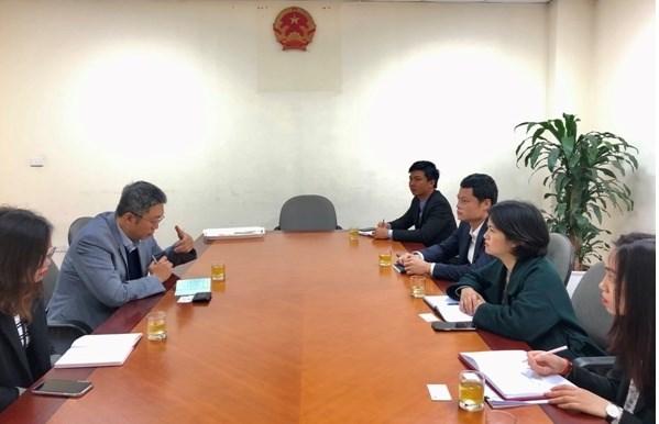 L'ambassade de la R. de Coree soutient la consommation des produits agricoles vietnamiens hinh anh 1