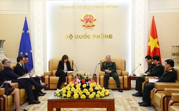 Promouvoir la cooperation Vietnam – UE dans la defense hinh anh 1