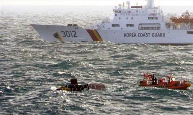 Cinq Vietnamiens portes disparus dans l'incendie d'un bateau de peche pres de Jeju hinh anh 1