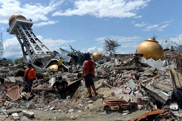 L'Indonesie enregistre 779 tremblements de terre en fevrier hinh anh 1