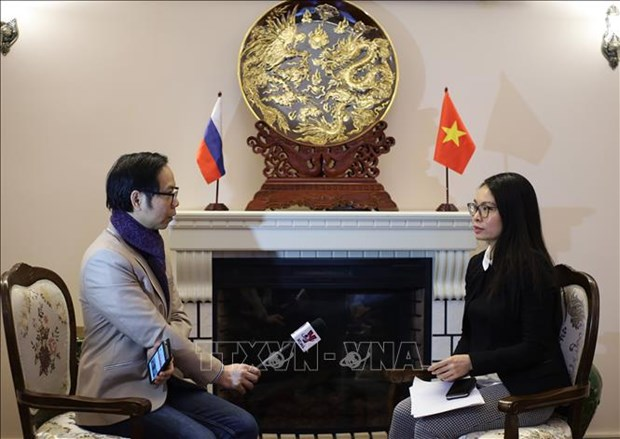 L'ambassade du Vietnam en Russie fait face aux nouvelles evolutions de l'epidemie de COVID-19 hinh anh 1