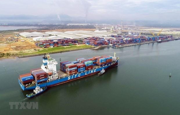 La balance commerciale du Vietnam excedentaire de 2,8 milliards de dollars au premier trimestre hinh anh 1