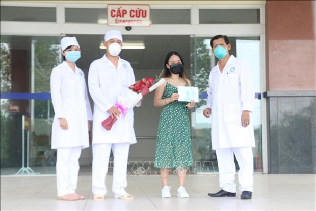 COVID-19: guerison de 95 cas d'infection au Vietnam hinh anh 1