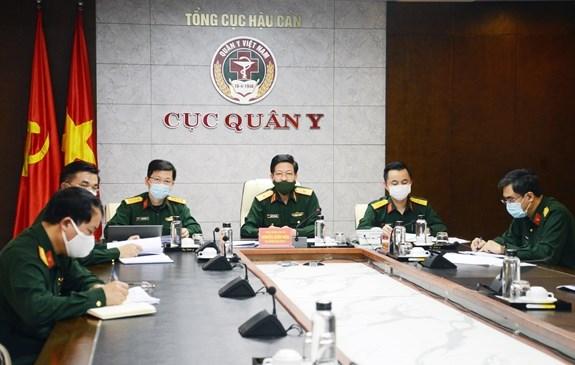 Medecine militaire: l'ASEAN discute de la cooperation pour lutter contre le COVID-19 hinh anh 1