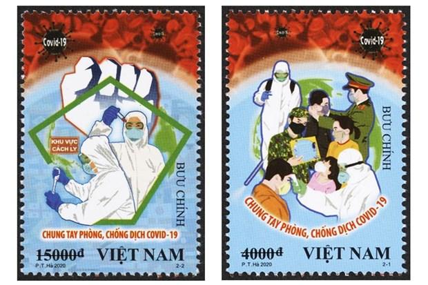COVID-19 : des peintres vietnamiens et leurs affiches sur un journal britannique  hinh anh 2