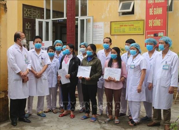 Ha Nam: trois patientes d'infection par le coronavirus annoncees gueries hinh anh 1