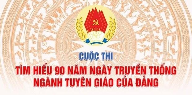 Pres de 572.000 personnes participent au concours d'etude de l'histoire du secteur de la propagande hinh anh 1