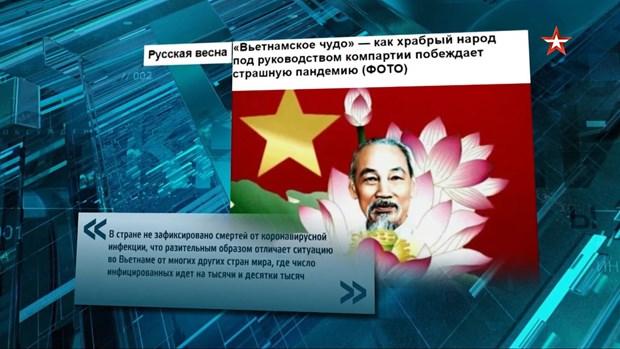 Un talk-show russe aborde des succes du Vietnam dans la lutte contre le COVID-19 hinh anh 1