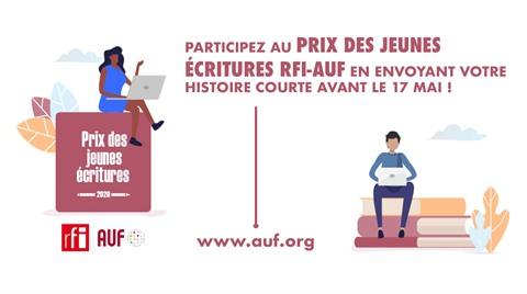 Lancement du Prix des jeunes ecritures RFI-AUF 2020 hinh anh 1