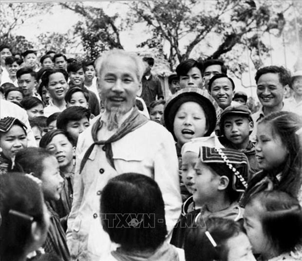Des sud-coreens expriment leurs sentiments a l'egard du President Ho Chi Minh hinh anh 1