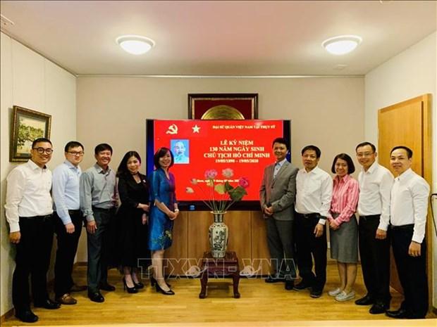 Activites en l'honneur du 130e anniversaire du President Ho Chi Minh a l'etranger hinh anh 1