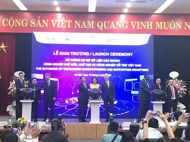 Inauguration du systeme de base de donnees sur les industries auxiliaires au Vietnam hinh anh 1