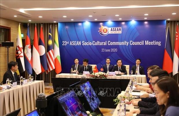 Le Laos soutient le plan de l'ASEAN sur le developpement des ressources humaines hinh anh 1