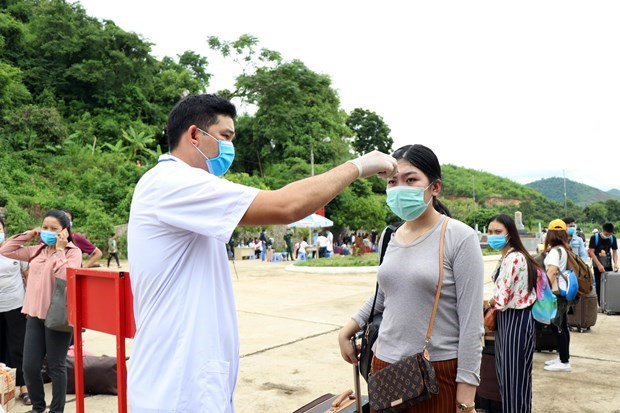COVID-19 : Aucun nouveau cas de contamination locale au Vietnam depuis 70 jours hinh anh 1