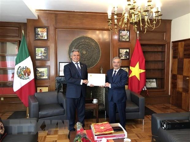 Nomination du consul honoraire du Vietnam a Guadalajara au Mexique hinh anh 1