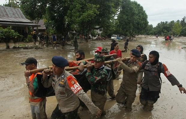 Indonesie: 15 morts et des dizaines de disparus dans des crues subites hinh anh 1