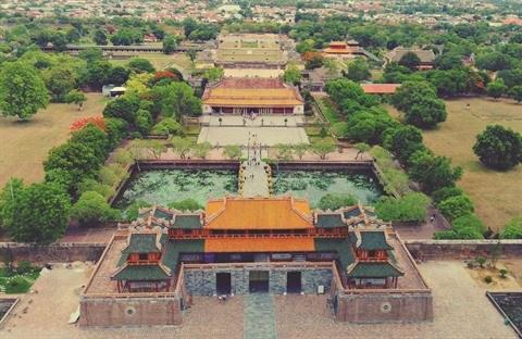 Thua Thien-Hue: decouverte de deux portes dans la cite imperiale de Hue hinh anh 1