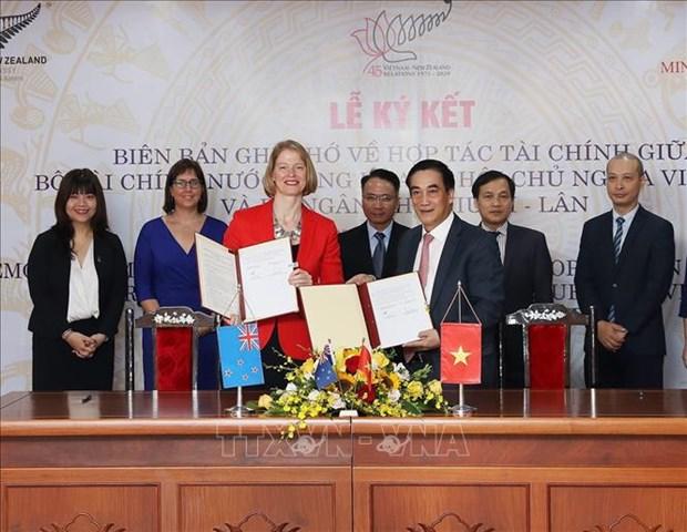 Vietnam – Nouvelle-Zelande : cooperation renforcee dans la finance hinh anh 1