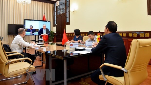 Approfondir le partenariat strategique Vietnam – Allemagne dans divers domaines hinh anh 1