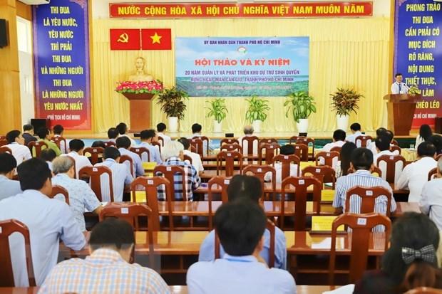Proteger la mangrove de Can Gio, le mur vert de Ho Chi Minh-Ville hinh anh 1