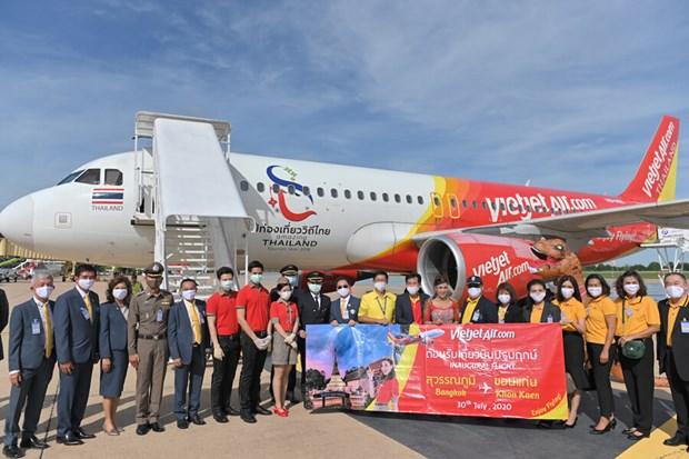 Thai Vietjet inaugure une ligne reliant Bangkok a Khon Kaen (Thailande) hinh anh 1