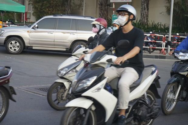HCM-Ville: Le port du masque est obligatoire dans les lieux publics sous peine d'amende hinh anh 1
