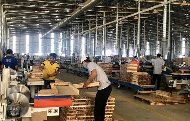 Les exportations de bois et produits derives en hausse de 6% en sept mois hinh anh 1