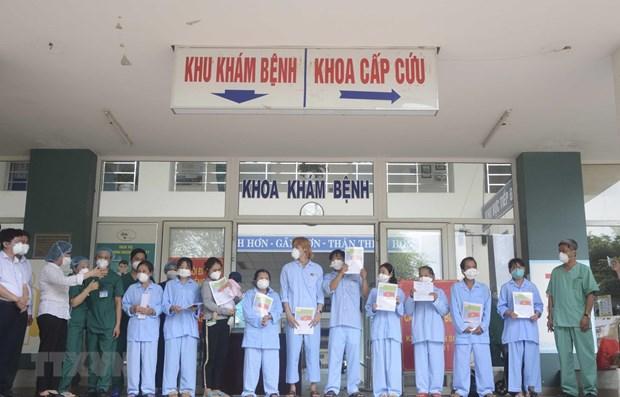 COVID-19 : 5 patients de Da Nang ont ete gueris hinh anh 1