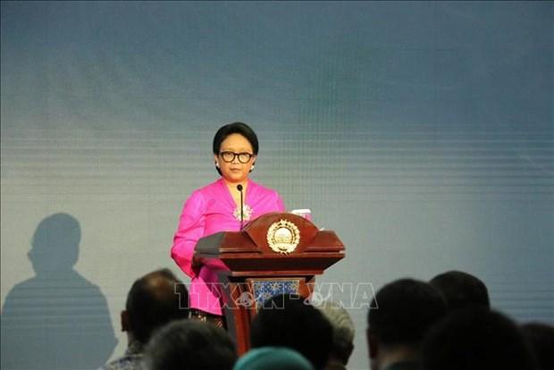 La ministre indonesienne des Affaires etrangeres en visite officielle en Chine hinh anh 1