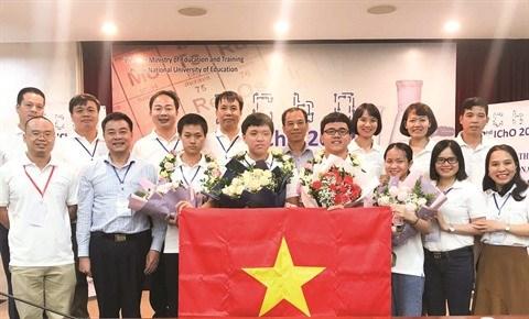 Dam Thi Minh Trang, la jeune perle de la chimie hinh anh 1