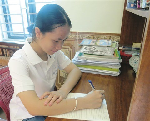 Dam Thi Minh Trang, la jeune perle de la chimie hinh anh 2