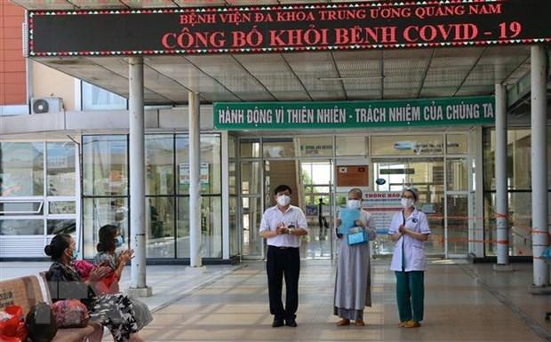 COVID-19 : 24 cas a Quang Nam et Hai Duong annonces gueris hinh anh 1
