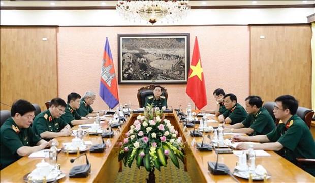 Vietnam – Cambodge : ameliorer l'efficacite de la cooperation dans la defense hinh anh 1